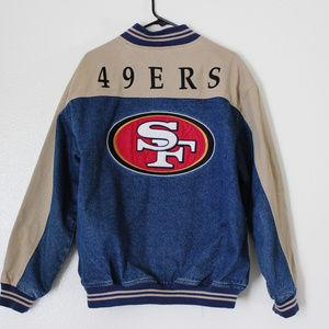 San Francisco 49ers Lee Denim Jacket